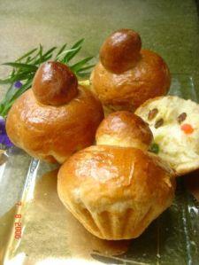 Roti brioche, resep roti, banabakery, indonesia, sarapan,